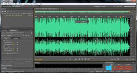Screenshot Adobe Audition Windows 8.1