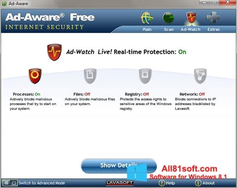 Screenshot Ad-Aware Windows 8.1