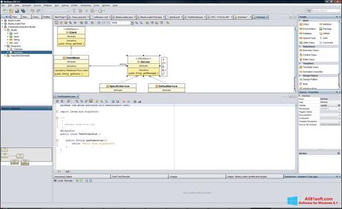 Screenshot NetBeans Windows 8.1