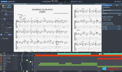 Screenshot Guitar Pro Windows 8.1