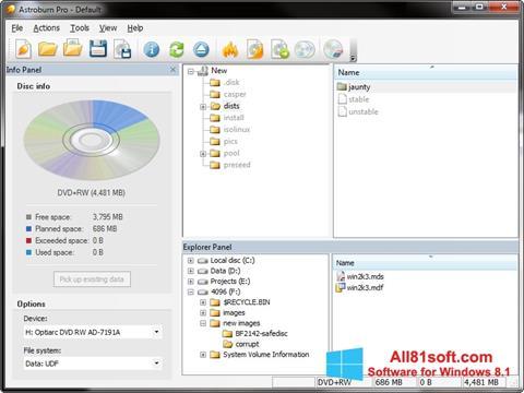 Screenshot Astroburn Lite Windows 8.1