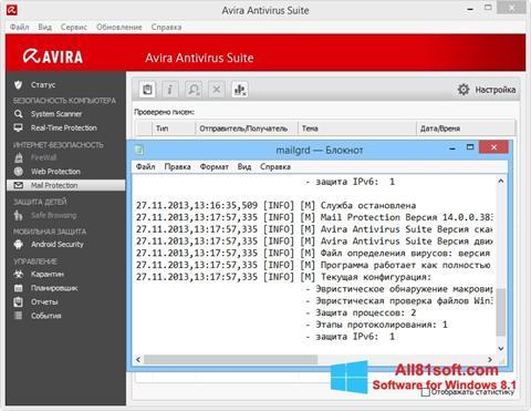 Screenshot Avira Windows 8.1