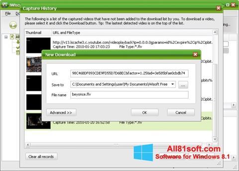 Screenshot Free Video Catcher Windows 8.1