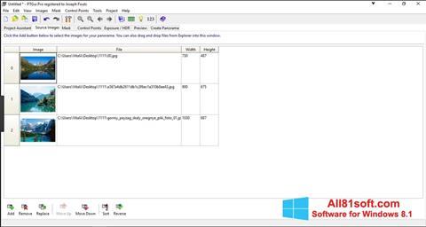 Screenshot PTGui Windows 8.1