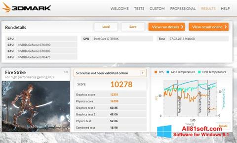 Screenshot 3DMark Windows 8.1