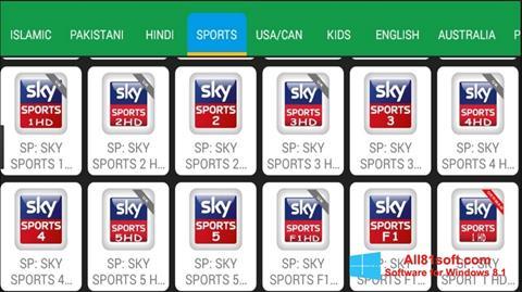 Screenshot Net TV Windows 8.1