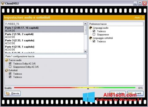 Screenshot CloneDVD Windows 8.1