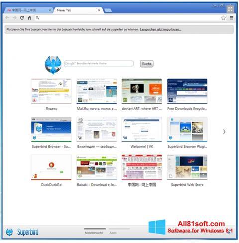 Screenshot Superbird Windows 8.1