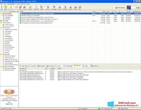 Screenshot BitComet Windows 8.1