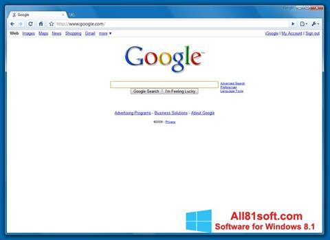 Screenshot Google Chrome Beta Windows 8.1