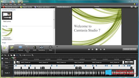 Screenshot Camtasia Studio Windows 8.1