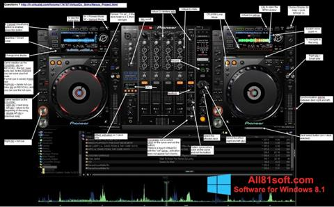 Screenshot Virtual DJ Windows 8.1