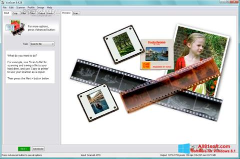 Screenshot VueScan Windows 8.1