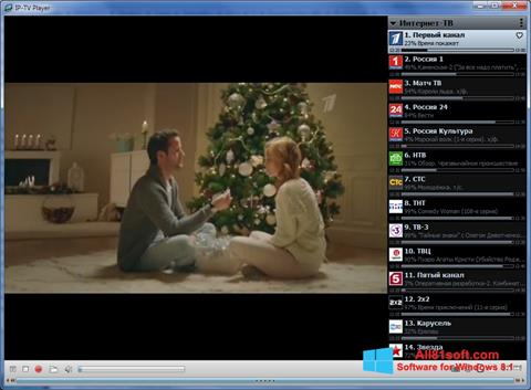 Screenshot IP-TV Player Windows 8.1