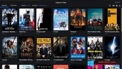 Screenshot Popcorn Time Windows 8.1