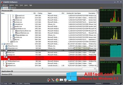 Screenshot Comodo Cleaning Essentials Windows 8.1