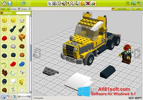 Screenshot LEGO Digital Designer Windows 8.1