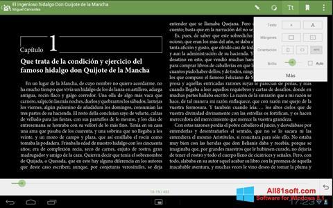Screenshot BookReader Windows 8.1