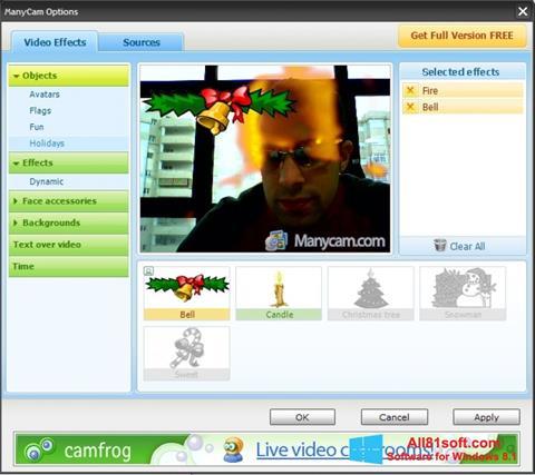 Screenshot ManyCam Windows 8.1