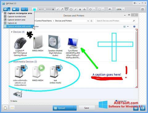Screenshot QIP Shot Windows 8.1