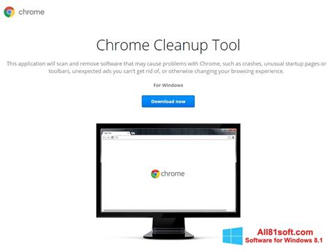 Screenshot Chrome Cleanup Tool Windows 8.1