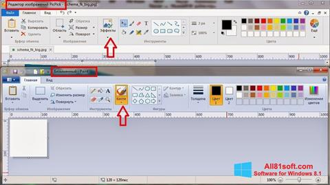 Screenshot PicPick Windows 8.1