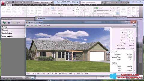 Screenshot AutoCAD Windows 8.1