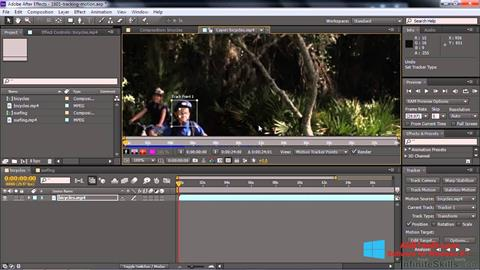 Screenshot Adobe After Effects CC Windows 8.1