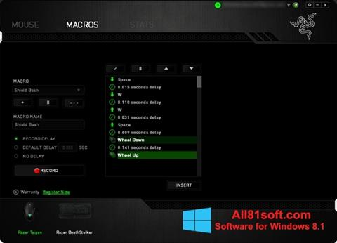 Screenshot Razer Synapse Windows 8.1