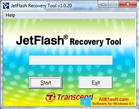 Screenshot JetFlash Recovery Tool Windows 8.1