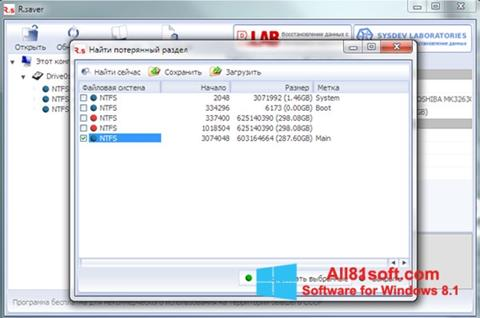 Screenshot R.saver Windows 8.1