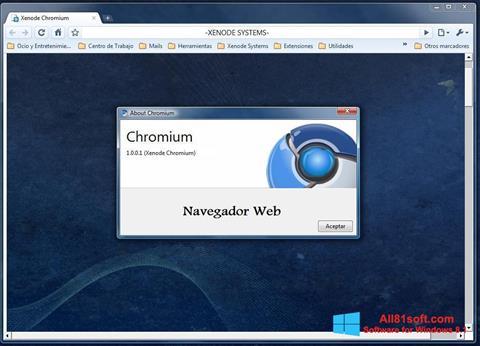 Screenshot Chromium Windows 8.1