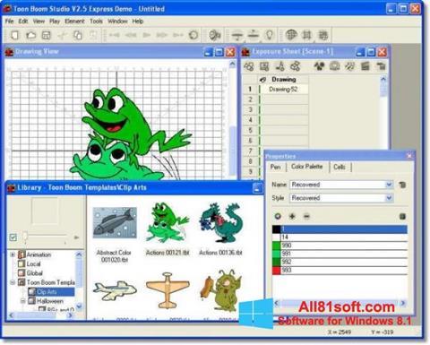 Screenshot Toon Boom Studio Windows 8.1