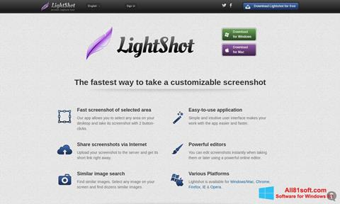 Screenshot LightShot Windows 8.1