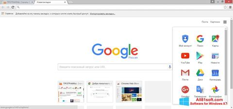 Screenshot Google Chrome Windows 8.1