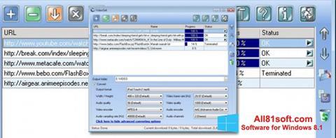 Screenshot VideoGet Windows 8.1