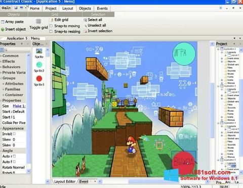 Screenshot Construct Classic Windows 8.1