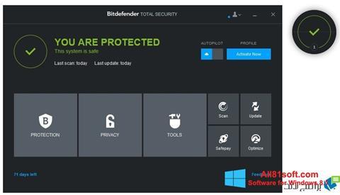 Screenshot Bitdefender Windows 8.1