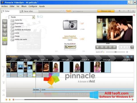 Screenshot Pinnacle VideoSpin Windows 8.1