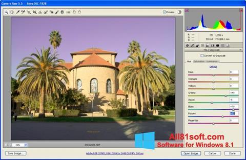 Screenshot Adobe Camera Raw Windows 8.1