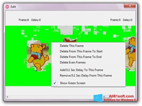 Screenshot GifCam Windows 8.1
