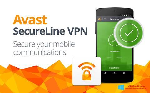 Screenshot Avast SecureLine VPN Windows 8.1