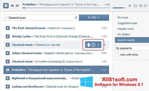 Screenshot SaveFrom.net Windows 8.1
